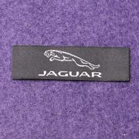 Polyester Yarns Over lock Custom Woven Clothing Labels Pantone Color