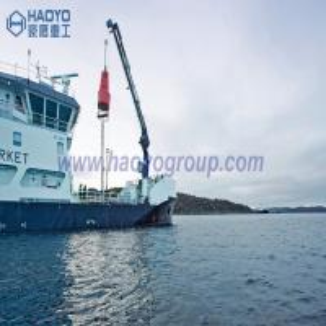 China Small Knuckle Boom Fishing Boat Mini Crane Price for sale Marine Ship Crane on sale