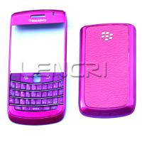 Colorful BlackBerry Bold 9700 Full Housing with Rose Red surface Manufactures