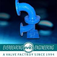 Cast Iron Pipe Fitting , Cast Iron Flange Bend Pipe Fitting Manufactures
