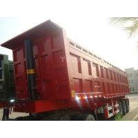 TITAN VEHICLE 40 ton container tipper trailer with 3 axles for sale Manufactures
