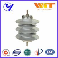12KV 10KA Safety Substation Lightning Arrester , Metal Oxide Surge Protector without Gaps Manufactures