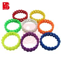 Eco Friendly Anti Static Health Multi Colored Promo Gift Customized Silicone Bracelets Manufactures