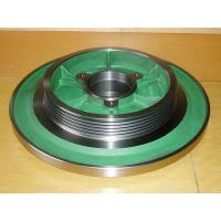Casting machine parts - dia 800mm forging steel elevator traction wheel for hydraulic tool Manufactures