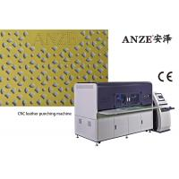 China High Speed Perforated Punching Machine / Leather Punching Machine 1650kg on sale