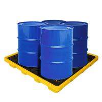 EPA Standard PE Drum Spill Containment Pallet, Oil Spill Tray 1300*1300*150 mm Manufactures