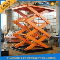 China Electro Hydraulic Scissor Lift Table with Explosion Proof Safety Device 2500kgs Loading capacity on sale