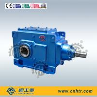 Hollow Shaft spiral Bevel Helical Gearbox right angle reducer Manufactures