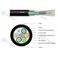 China Outdoor GYTS Fiber Optic Cable 24Core Duct Optical Fiber Cable on sale