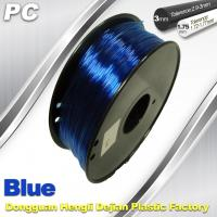High Strengh Cubify And  3D Printer Polycarbonate Filament 1.75mm / 3.0mm Manufactures