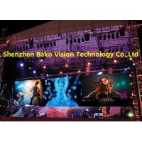 Waterproof Outdoor Led Panel Stage Background P6.25 High Definition Fast Installation Manufactures