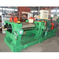Driving Motor 55kw Laboratory Two Roll Mill Open Type Rubber Mixing Equipment Manufactures