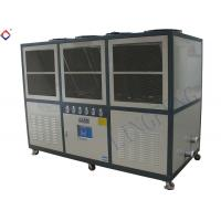 Electronic 30HP Air Cooled Chillers Industrial Water Chiller Units 113kw Manufactures