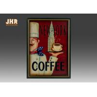 Antique Home Wall Decor Decorative Wall Plaques Coffee Shop Wall Art Signs Manufactures