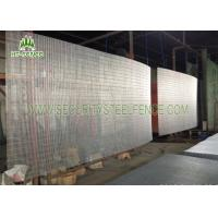 Anti Ultraviolet Anti Climb Fence , Security Welded Wire Mesh Fencing Panels Manufactures