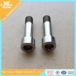 Metric Gr2 DIN912 Titanium Hex Socket Cap Screws Fasteners Manufactures