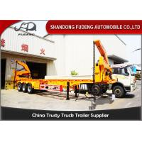 37 / 42 Tons Side Loader Trailer ,40ft Container Carrrying  Side Lifter Truck Manufactures