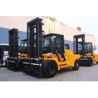 Variable Speed Control 15 Ton Forklift , Energy Saving Engine Diesel Powered Indoor Outdoor Forklift Manufactures