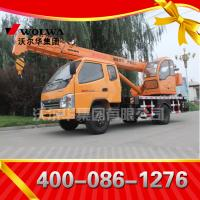 small wheel crane 8 ton truck mounted crane with telescopic GNQY-3200 Manufactures