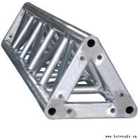 Speaker Aluminum Triangle Truss Bolt System For Display Truss Manufactures