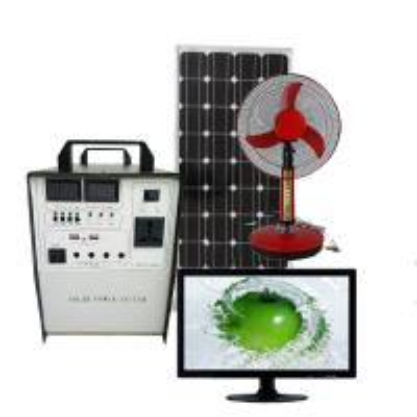 Quality 300W Solar Generator home Solar Power System AC 220V/ DC 12V output USB charging for sale
