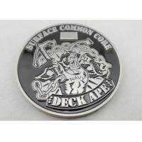 Soft Enamel Nickel Plating DECK APE Coin / Zinc Alloy Metal Personalized Coins for Awards Gift Manufactures