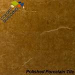 Nano Brown Polished Porcelain Tiles 800mm X 400mm For House Floor Manufactures