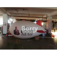 China Large Advertising Airplane Balloon Inflatable Blimp With Custom Logo Printing for sale