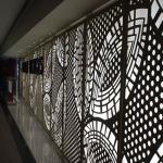 Decorative Facade Perforated Custom Cnc Parts Aluminum Sheet Metal Panels Manufactures