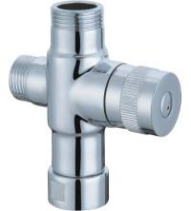 Custom Bathroom Rain Shower Head Diverter , 3 Way Shower Valve Diverter Manufactures