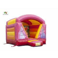 Buy cheap Safety Waterproof Pink Inflatable Jumping Castle House With 24 Months Warranty from wholesalers