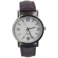 China Slim Strap Simple Quartz Watches for Women White Dial Analog on sale