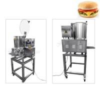 China Meat Cutlet Food Processing Machinery Chicken Burger Patty Maker Machine on sale