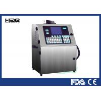 Small Character Continuous Inkjet Printer , Inkjet Date Code Printer For Bottle Manufactures