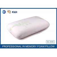 Traditional King Size Memory Foam Pillow Neck Support , Orthopedic Pillows For Neck Pain Manufactures