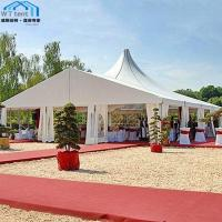Commercial Mixed Custom Made Tents Strong Metal Structure UV Protected
