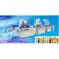Quality 200ml - 2000ml 3 In 1 Electric Juice Filling Machine For Water / Paste for sale