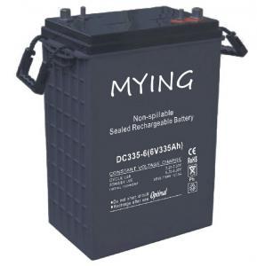 China 6V 335Ah Deep Cycle VRLA Battery Equivalent Of Golf Cart Battery Trojan J305P on sale