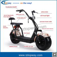 18x9.5 inch fat tyre with Brushless dc motor 1000w electric citycoco scooter Manufactures