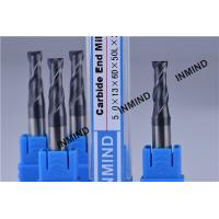 Carbide end mill , Upto HRC50 AlTiN Coating , 5mm *2F Square End Mill ,  Milling Cutters Manufactures