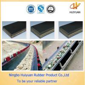 Acid&Alkali Resistant Conveyor Belt used in chemical fertilizer factory Manufactures