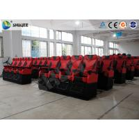 Good Experience 4D Movie Theater Motion Theater Chair Cinema 4D Film Rubber Cover Manufactures