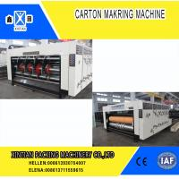 Quality High Precision Carton Making Machine / Paper Die Cutting Machines , 2800mm Inboard Width for sale