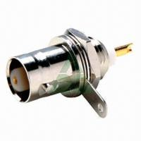 RF Connector, BNC Female Chassis Mount, for Telecommunications Manufactures