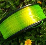 Green Polycarbonate 3D Filament / PETG 3D Printer Filament 2.85MM Manufactures