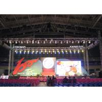 16 Bit Processing Outdoor Advertising LED Display With IP65 Aluminum Led Cabinet Manufactures