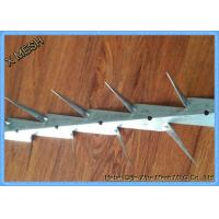 Hot Dipped Galvanized And PVC Coated Black Medium Wall Spikes 0.8mm Thickness Manufactures