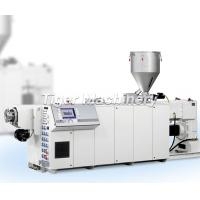 Buy cheap Twin Screw Extruder Pvc Extruding Machine from wholesalers