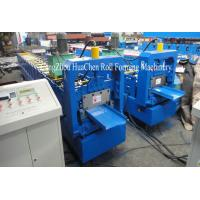 China No Nails Roof Panel Roll Forming Machine Making Slef Locking Warehouse Roof on sale