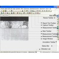 Easy Operation Metallographic Image Analysis Software MetaVision for Metallurgical Microscopes Manufactures